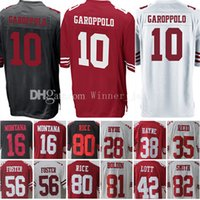 10 Jimmy Garoppolo 16 Joe Montana 80 Jerry Rice Jersey Hyde ...