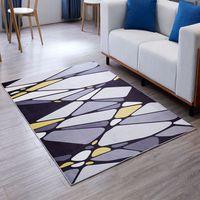 New Style Large Area Teppiche Rug Parlor Teppich Wildleder Matten  Geometrische Rechteck Teppich Für Wohnzimmer Schlafzimmer