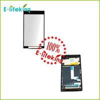Черный ЖК-дисплей + сенсорный экран Digitizer + рамка Ассамблеи для Sony Z1 L39h l39 C6902 C6903 C6906 C6943 черный Бесплатная доставка