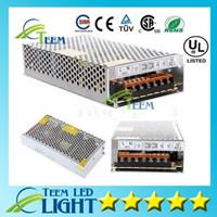 La fuente de alimentación de conmutación de LED 10A 120W 15A 180w 5A 60w 3.2A 40w llevó el adaptador del transformador 100-240V a 12V llevó la luz de tira X10