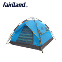 Outdoor tent fast open 3- 4 person Ultralight Quick automatic...