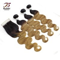 Wholesale colored hair extensions buy cheap colored hair colored indian hair ombre human hair t1b 27 pmusecretfo Choice Image