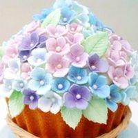 Livraison Gratuite 3 pcs / ensemble Hydrangea Plongeur Moule Décoration de Gâteau Outils Gâteau Outils / Cookie Cutters TY1693