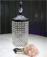 Crystal Candle Holder, Metal Candle Holder Centerpieces 111