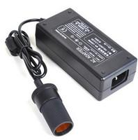 Auto Zigarettenanzünder AC zu DC 12V Netzteil Konverter Adapter für Auto Staubsauger Kühlschrank 60W 96W 120W + Netzkabel