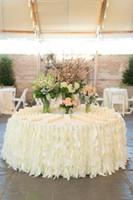 Оборками стул створки на заказ высокое качество свадебные украшения свадебные поставщики бесплатная доставка 2016 весна фабрика рождественские украшения