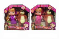 Cute Baby Dolls Bambini Early Education Full Body Dolls Toys Orso ragazze compleanno Chirstmas regalo giocattolo
