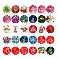 Рождественские CLASPS крючки привязки кнопки шарм поппер для браслета 30 шт. / Лот GL034 Noosa, ювелирные изделия поставщик