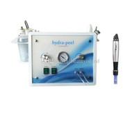 Máquina de dermoabrasão de diamante de água de cristal microdermoabrasão máquina de casca de diamante + caneta derma elétrica Caneta Elétrica MicroNeedle Therapy