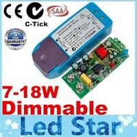 5 lat gwarancji C-Tick Saa Dimmable AC 200-250V Transformatory 7-18W Constant Aktualny zasilanie Najlepszy do DownLa Downlight Darmowa wysyłka