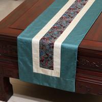 Удлинить элегантный лоскутное стол Бегун европейский стиль noil поплин чай скатерть мода простой обеденный стол колодки Placemat 250 х 33 см