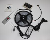マジックLEDストリップドリームカラー6803 IC 5050 RGB SMDライト150 LED 5M防水133色電源が付いているコントローラーが付いている新しい到着DHL