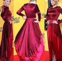 Plus Size New Fashion 2015 Celebrity Prom Dresses Long Sleeves Evening Gowns Hi-lo Spring Zipper Back Party Dresses Formal Gowns BO8266