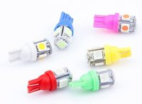 wholsale 300pcs Colorful T10 5 SMD 5050 LED 194 168 W5W Car ...