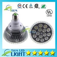 عكس الضوء بقيادة مصباح الأضواء par38 par30 par20 9W 10W 14W 18W 24W 30W E27 par 20 30 38 LED مصباح ضوء النازل 50