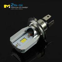 Vendita calda Super Bright 6W * 2 12W LED Faro del faro COB High Beam Low Beam per moto 6-80V