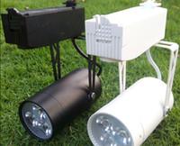 MOQ20 3W LED pista apparecchio di illuminazione CA 85-265V Negozio di abbigliamento binari Diffusore 3 Watt ad alta potenza lampade Warm bianco naturale bianco freddo bianco CE