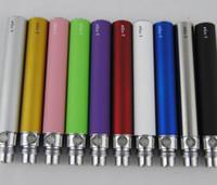 Fabrik Preis Ego-T Akku eGo T 650 900 1100 mah 510 Gewinde match evod mt3 CE4 Verdampfer Zerstäuber VS Ego-c twist vision Colorful