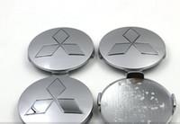 4 teile / los abs 81mm mitsubishi radmitte radkappen chrom abzeichen radnabe deckt für mitsubishi pajero v73 v75 v77 v78 montero etc