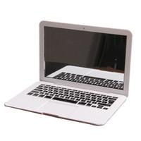 Atacado - MirrorBook Air White Mini Novel Maquiagem MirrorBook Air Mirror Para Apple MacBook Shaped 88 H7JP