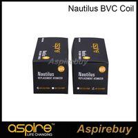 Aspire Nautilus BVC Bobin Kafası Yüksek Kaliteli Nautilus Atomizer Bobin Için Nautilus / Mini / 2 Atomizer Clearomizer 100% Origina