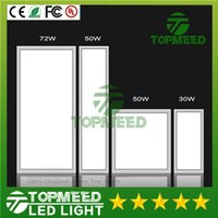 CE RoHS Panel de luz led 300 * 300 mm 600 * 300 mm 600 * 600 mm 300 * 1200 mm 20W 30W 50W 72W Lámpara empotrada empotrable de techo Lámpara de alto brillo 22