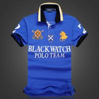 US desenhador TAMANHO camisas pólo homens polo shirt t-shirt PRETO RELÓGIO Polo Team Custom Fit Sobre o tamanho do Reino Unido da UE