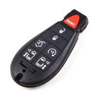 Nuova chiave senza chiave di sostituzione a distanza per auto Fob Shell Case per Chrysler Town Paese Dodge Grand Caravan Remote 7 pulsanti chiave Fob