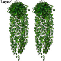 Luyue Artificial Ivy Leaf Garland Plants Vine Fake Foliage F...