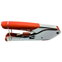 Universal Compression Crimp Tool Montage Zangen BNC RCA F Kopf Quetschzangen COAX RG59 RG6 Kabel Draht Werkzeug Hohe Qualität