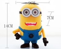 speaker fm tf card cute minions center sealed mobile phone b...