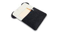 Cartoon panda felt laptop bag 10 12 inch notebook computer bag case drop shipping Can be customized adding logo