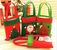 크리스마스 장식품 어린이 선물 가방 크리스마스 이브 장식 트리 가방 크리스마스 캔디 핸드백