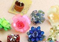 10 stks / partij Mix Style Size Crystal Mode Ringen voor DIY Sieraden Gift Craft RI56