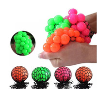 New 5cm 6cm Cute Anti Stress Face Reliever Grape Ball Autism...