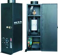 Sıcak satış DMX512 Alev projektör, yangın Makinesi, Dört köşe Alev Makinesi, sahne aydınlatma 110 V-240 V Ücretsiz kargo