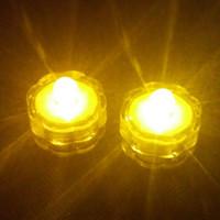 Yuvarlak mum ışığı yayan LED lamba pilin yerini değiştirebilirsiniz dalış sualtı su geçirmez mum ışığı Yeni Yıl dekorasyon