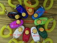 100pcs lot DHL Fedex Free Shipping Wholesale clickers pet do...