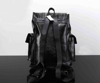 Fashion popular double shoulders backpack classic model shou...