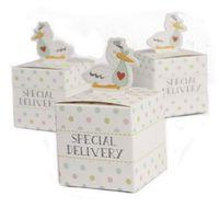 استحمام الطفل الحلوى مربع الإبداعية الحيوان هدية الزفاف مربع جودة عالية الزخرفية علب الهدايا لطفلة بوي الاستحمام عرس الحسنات الحلوى