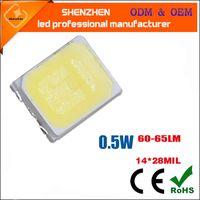 SMD2835 LED Chip 0.5W 3V 150mA 60-65lm superfície SMT Mount LED Chip DIY Light Emitting Diode lâmpada SMD2835 0.5W lâmpada talão