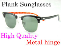 Hot sales Plank sunglasses black red Alphabet Frame Green Su...