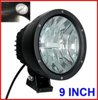 """EMS 2PCS 9 """"50W CREE LED Luz de trabajo de conducción 2COB * 25W CHIP Offroad SUV ATV 4WD 4x4 Punto Lápiz Haz 12 / 24V 5000lm Xenón blanco 6K Reemplace HID"""