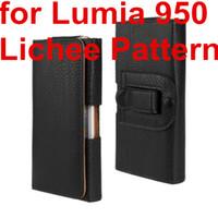 الجملة الأحدث الخصر حالة الحافظة PU جلد حزام كليب الحقيبة حالة تغطية ل لميا مايكروسوفت 950 لنوكيا Lumia 950 الهاتف حقيبة مجانية