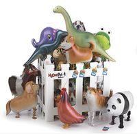 30 Tipi Yürüyüş Pet Hayvan Helyum Alüminyum Folyo Balon Otomatik Sızdırmazlık Çocuklar Balon Oyuncaklar Hediye Noel Düğün Doğum Günü Partisi Için