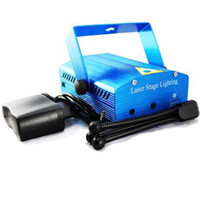 Hot Sale Holiday 50pcs lot Blue Mini Laser Stage Lighting 15...