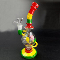 Feb Egg Glass Bongs 24cm Tall Joint Size 14. 4mm Two Fuction ...