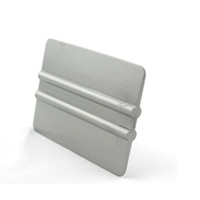Новые Прибытие Окно Тонировка Аппликаторы 10 * 7.5см Бумажные карты Серый Solf Bondo Squeegee для упаковки автомобилей MO-88