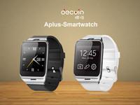 {Первая поддержка NFC} GV18 Smart Bluetooth наручные часы с камерой Android часы Поддержка телефона SIM-карта SmartWatch для смартфона