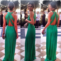 summer style sexy women maxi dresses fashion casual green ho...